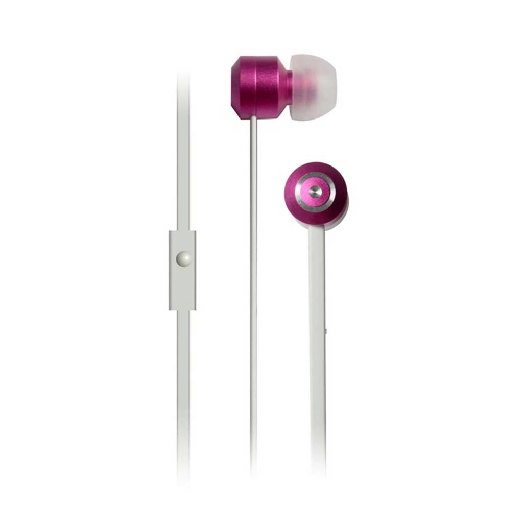 Dcybel Urban in-ear koptelefoon roze, Roze