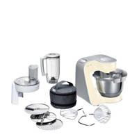 Bosch MUM58920 keukenmachine, Beige,Grey,Stainless steel