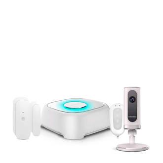 W020+IP6 wifi alarmsysteem + IP camera