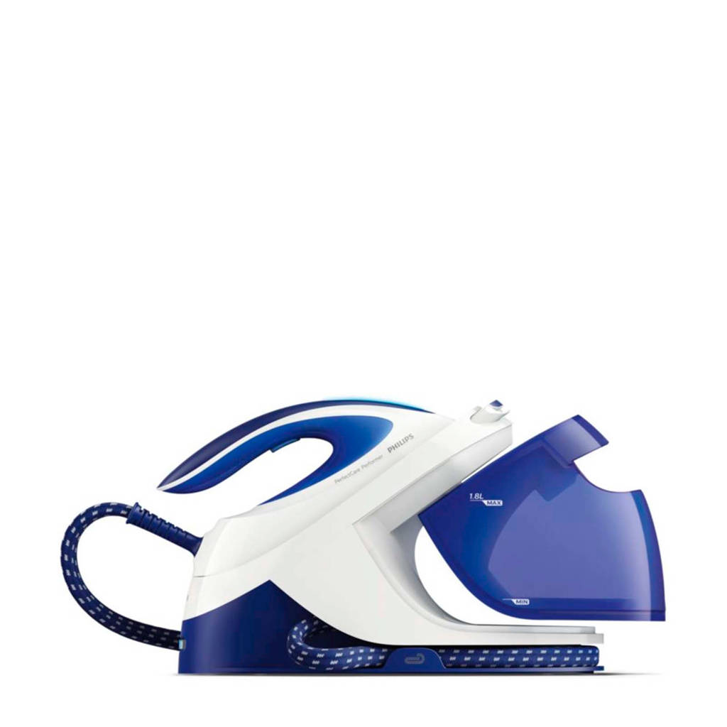 Philips GC8703/20 stoomgenerator, Blauw, wit