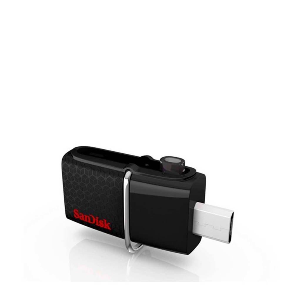 Sandisk USB stick Dualdrive 64G, Zwart