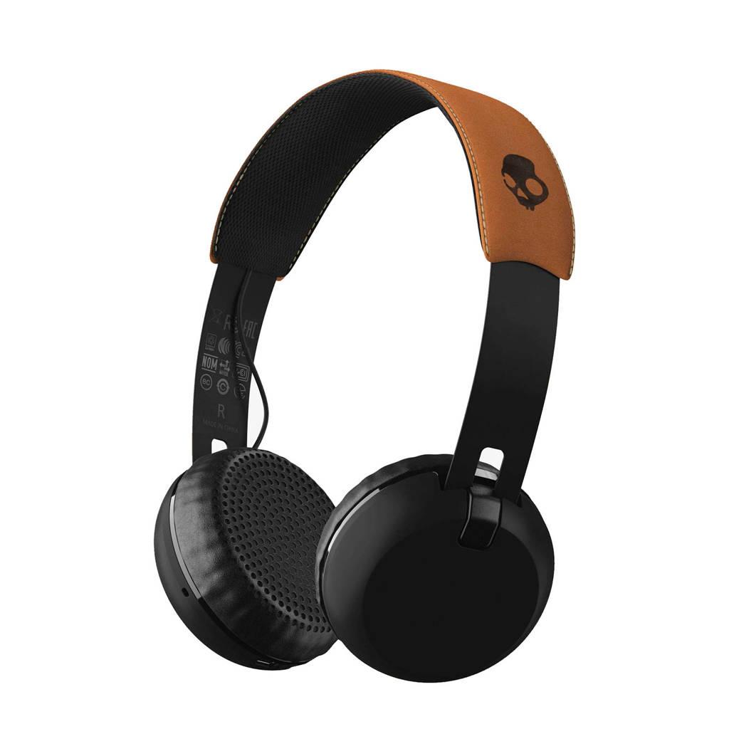 Skullcandy on-ear wireless koptelefoon zwart, Bruin
