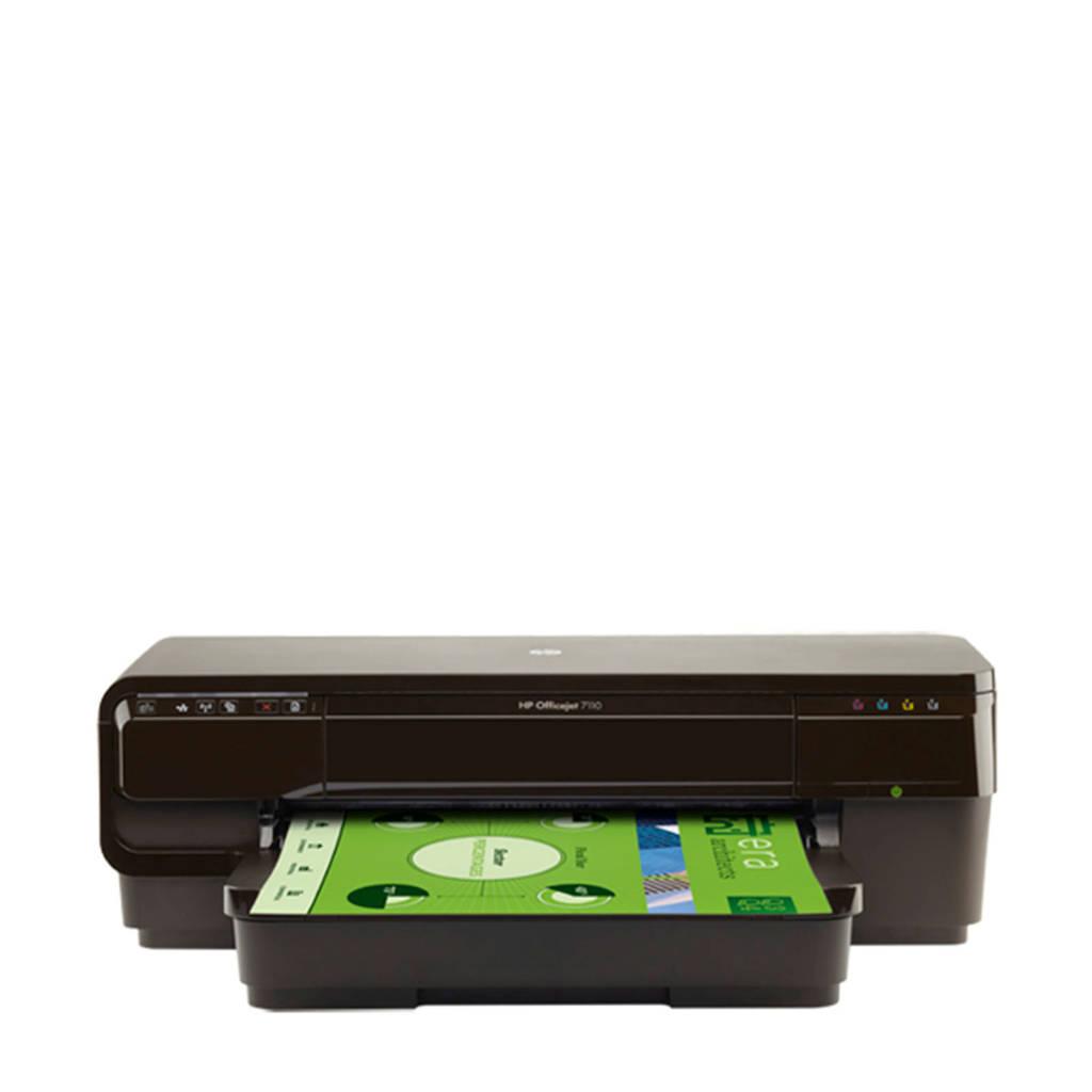 HP OfficeJet 7110 A3 printer, Zwart