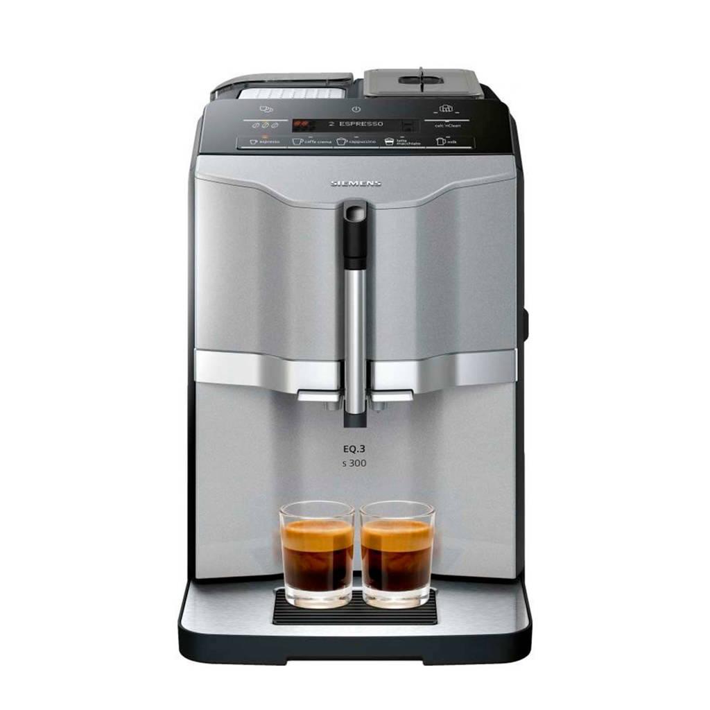 Siemens TI303203RW koffiemachine, Zilver