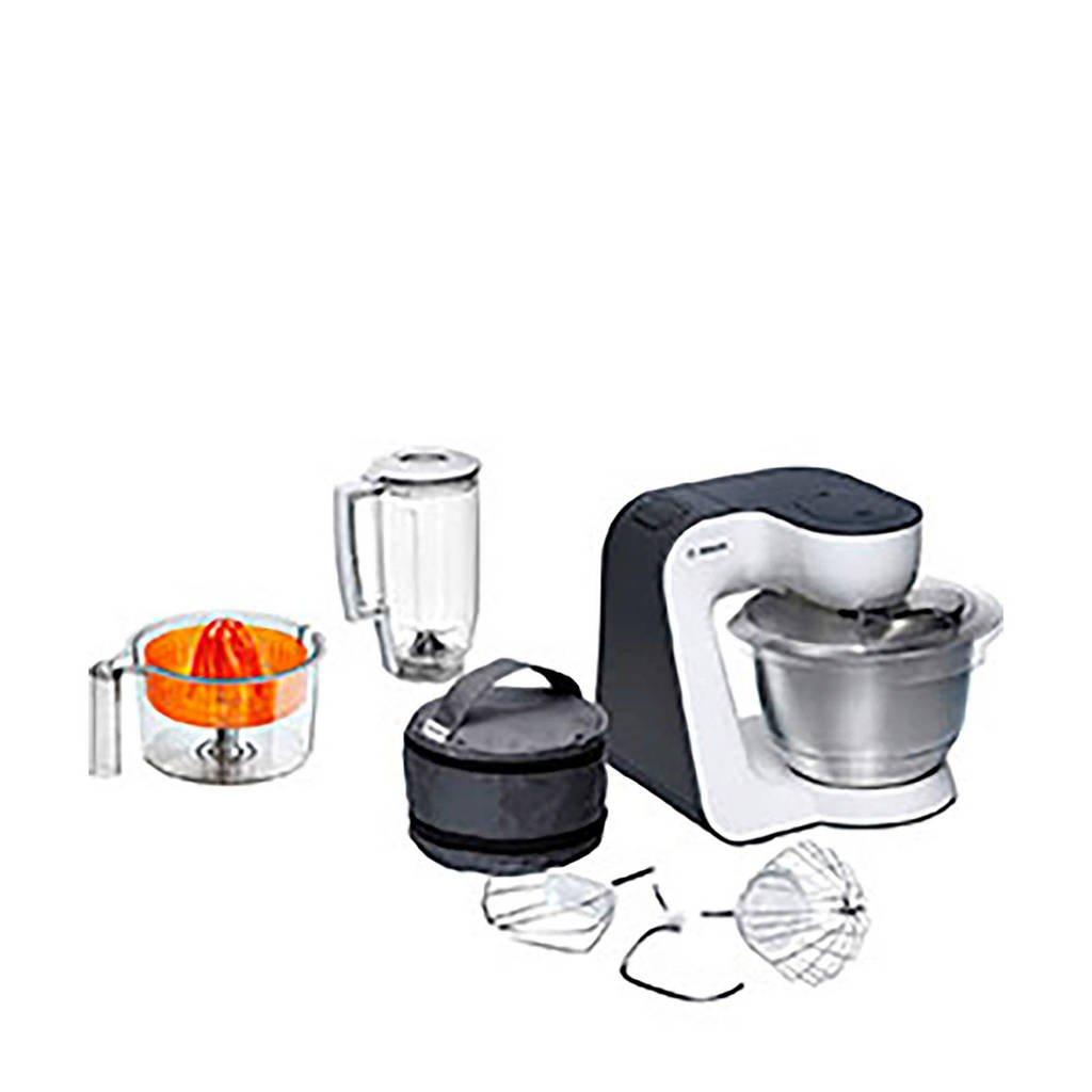 Bosch MUM50123 keukenmachine, Orange,Silver,Transparent,Whit