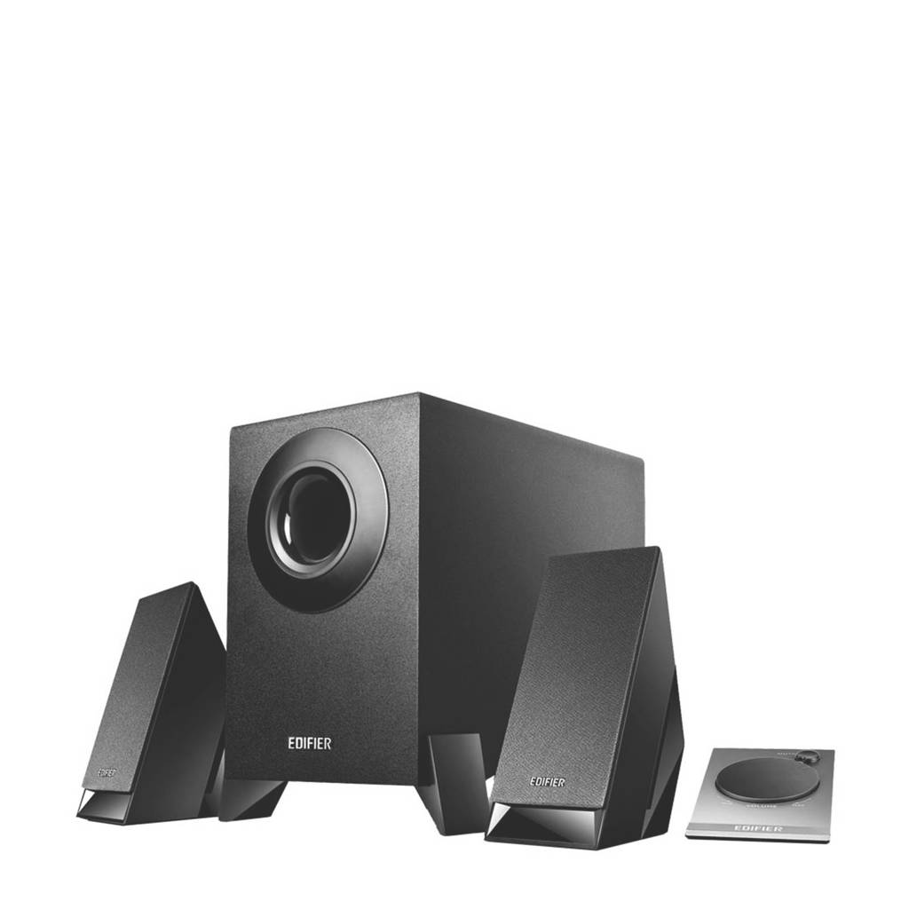 Edifier M1360 multimedia speakersysteem, Zwart
