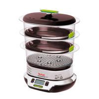 Tefal VS400333 stoomkoker, Zwart, Zilver, Limegroen