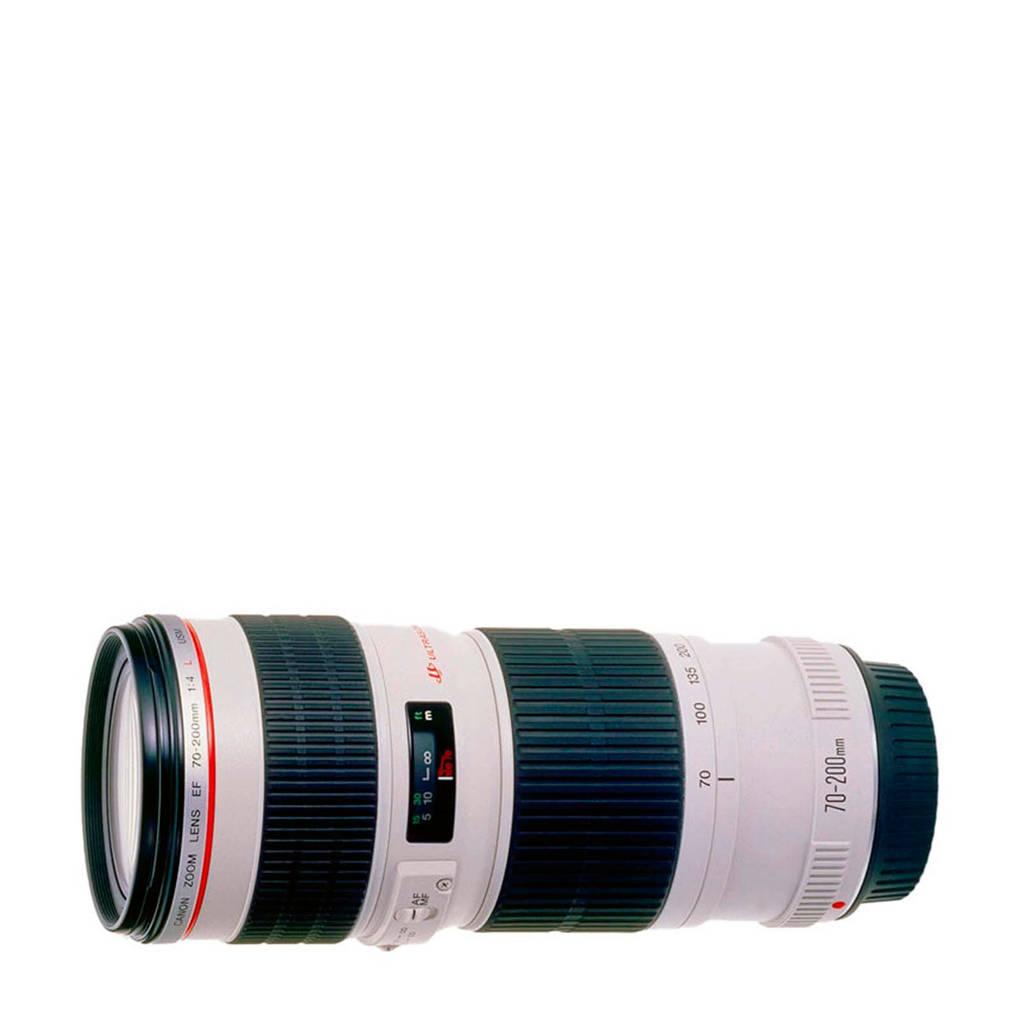 Canon EF 70-200/4.0L USM Lens, Wit