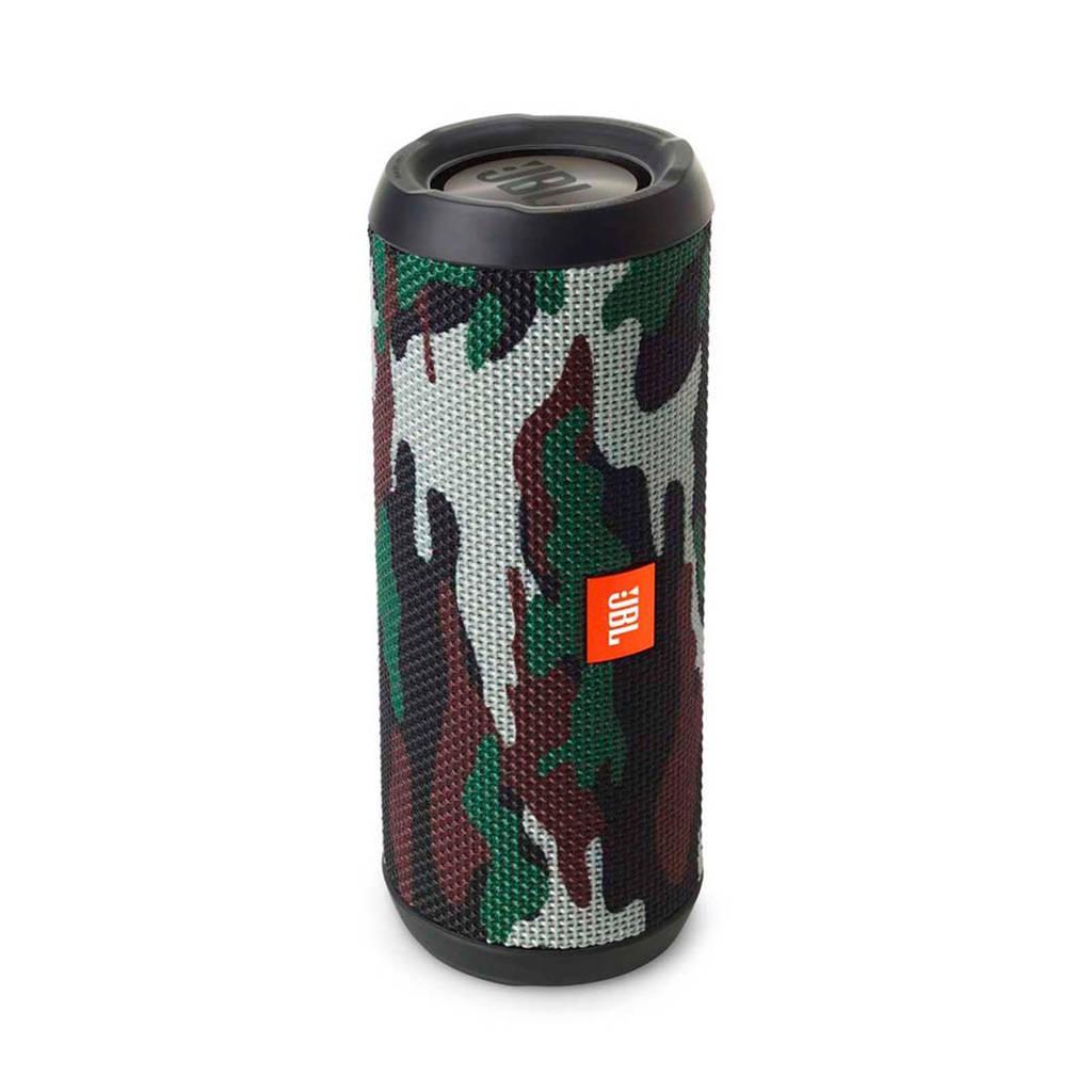 JBL Flip 4 Squad Special Edition  bluetooth speaker army groen