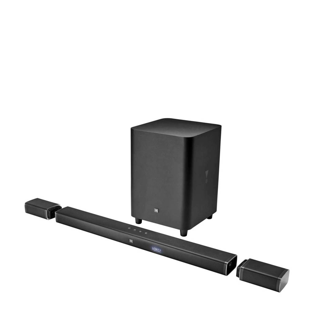 JBL BAR 5.1  soundbar met draadloze subwoofer, Zwart