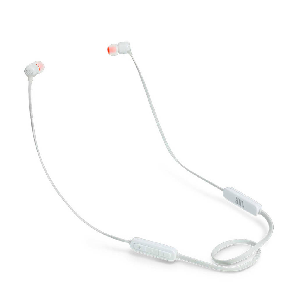 JBL T110 in-ear bluetooth koptelefoon wit, Wit