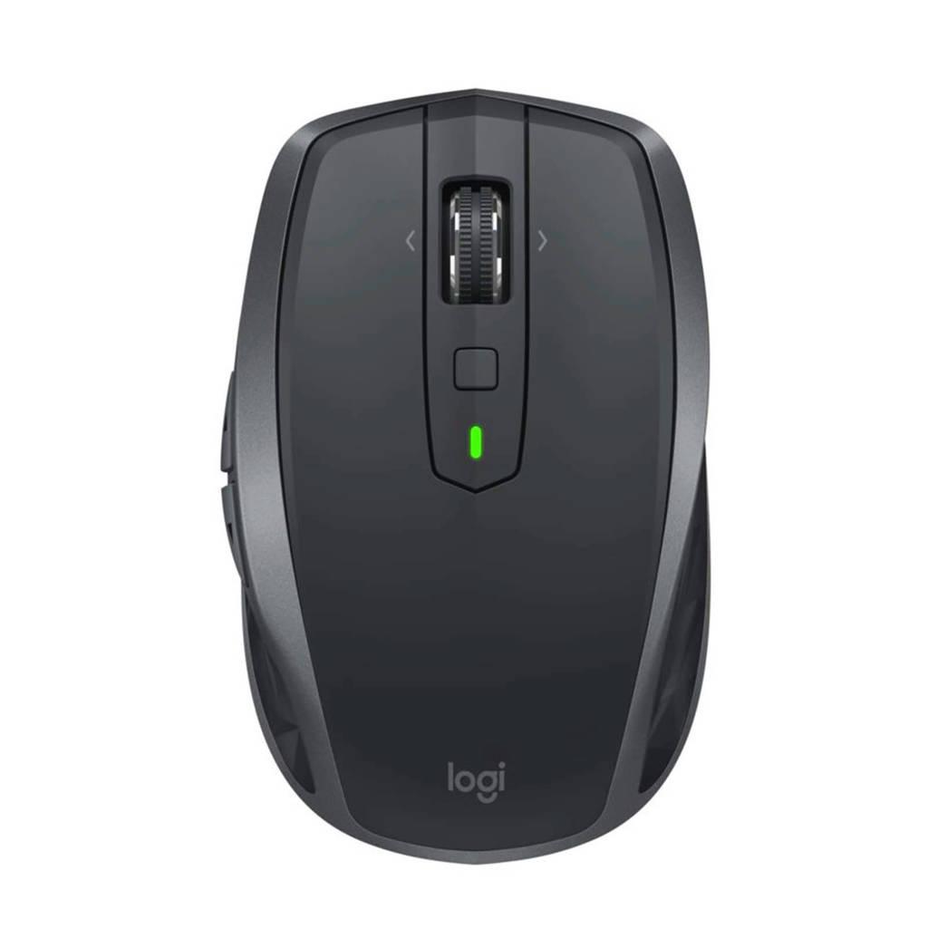 Logitech MX Anywhere 2S draadloze muis, Zwart