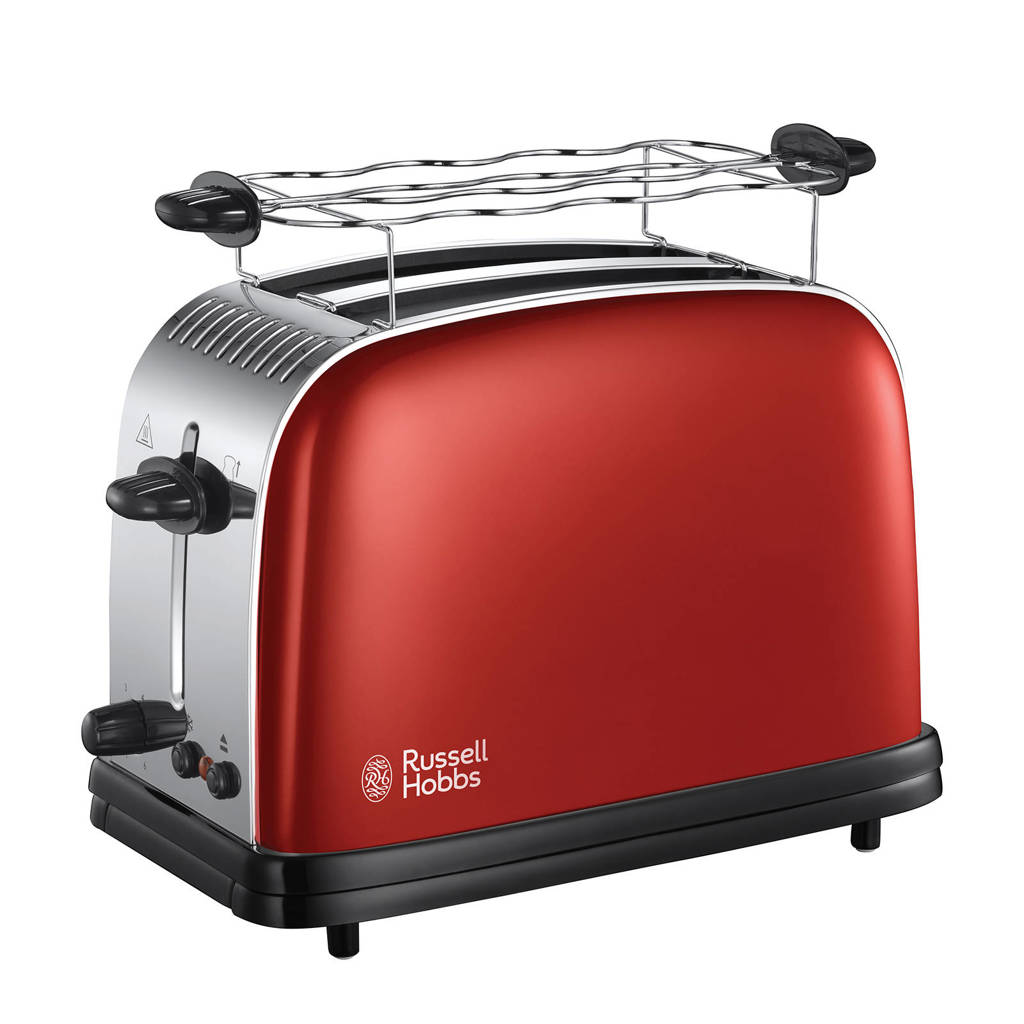 Russell Hobbs 23330-56 Colours Plus broodrooster (rood), Rood