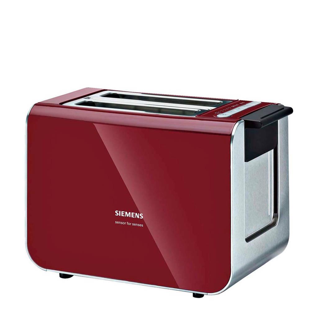 Siemens TT86104 broodrooster, Rood