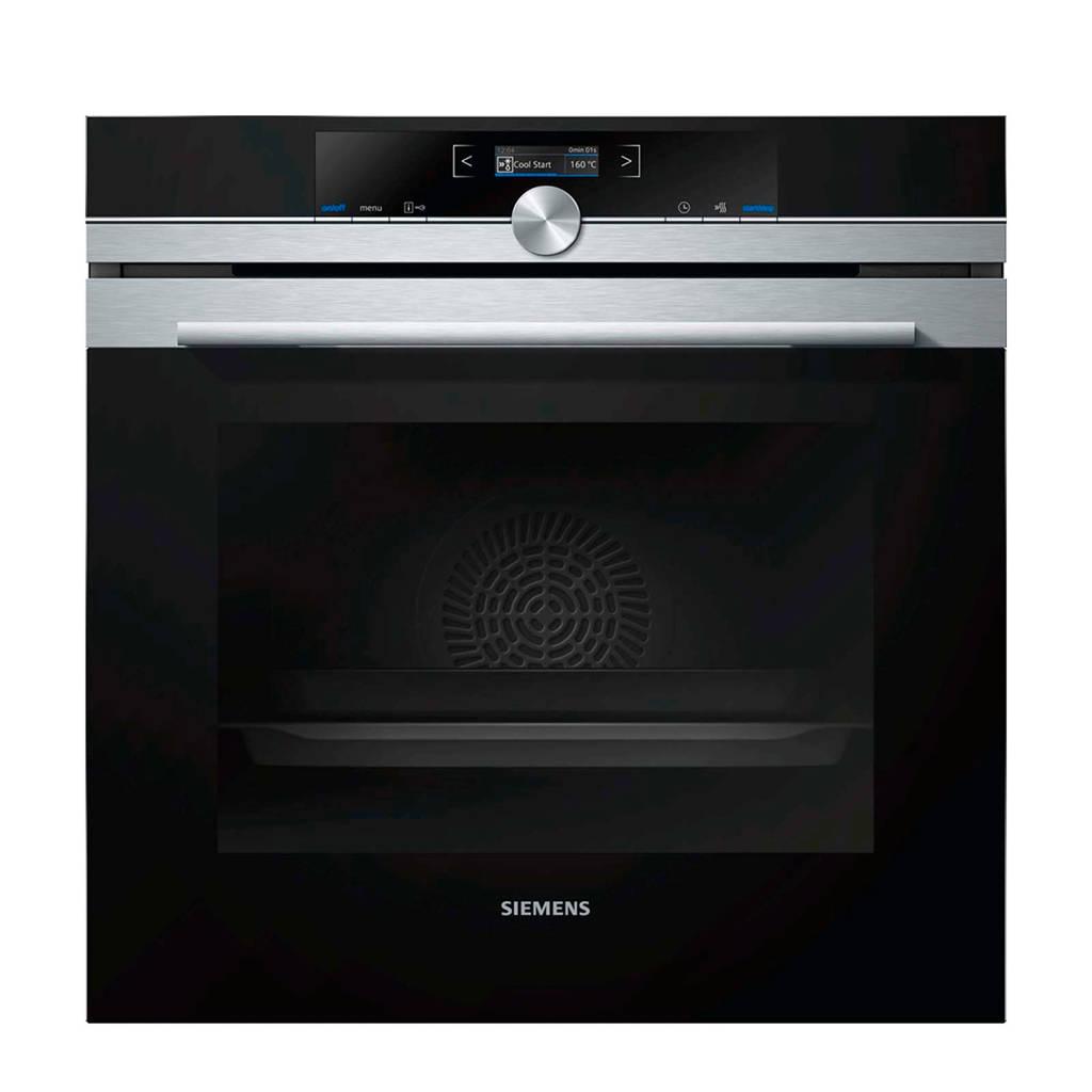 Siemens HB633GBS1 inbouw oven, Roestvrij staal