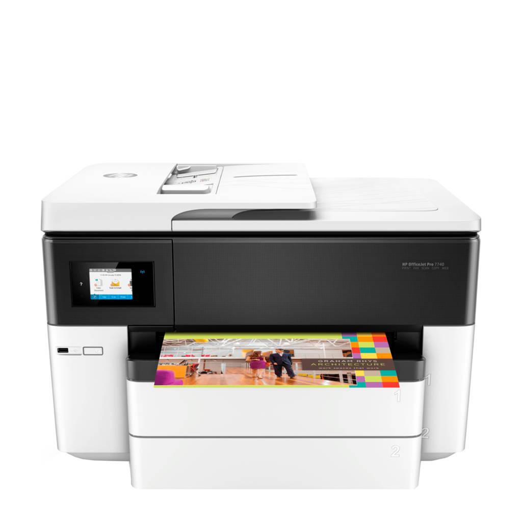 HP OfficeJet Pro 7740 all-in-one printer, N.v.t.