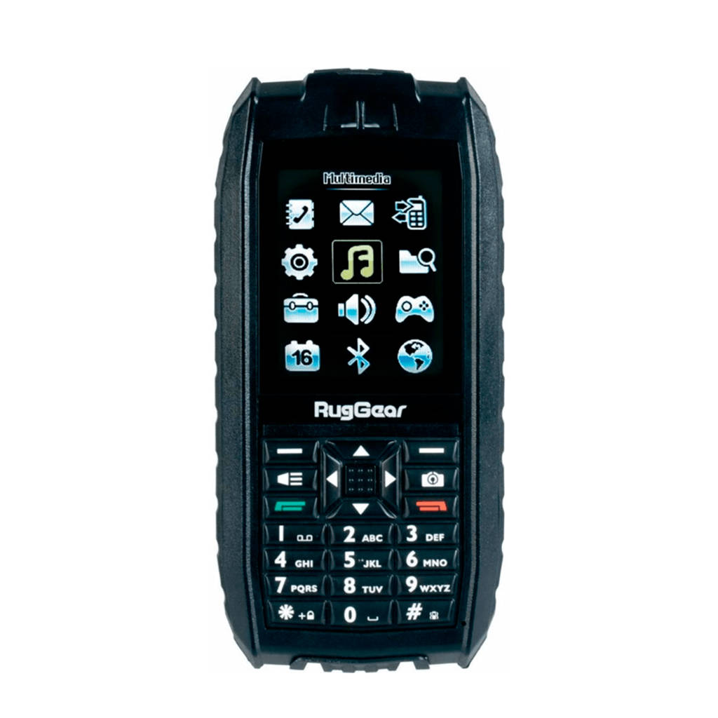 Ruggear XF water- en schokbestendige GSM, Zwart