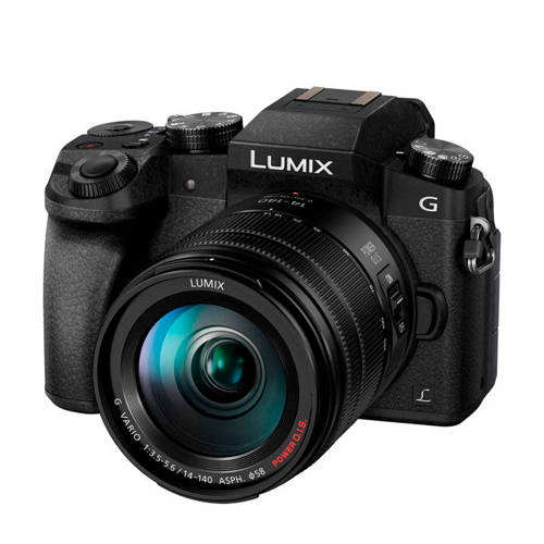 Panasonic DMC-G7HEG-K systeemcamera Zwart + 14-140mm