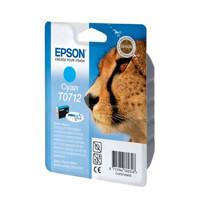 Epson GUEPARD CYAN T0712 inktcartridge (cyaan), Cyaan