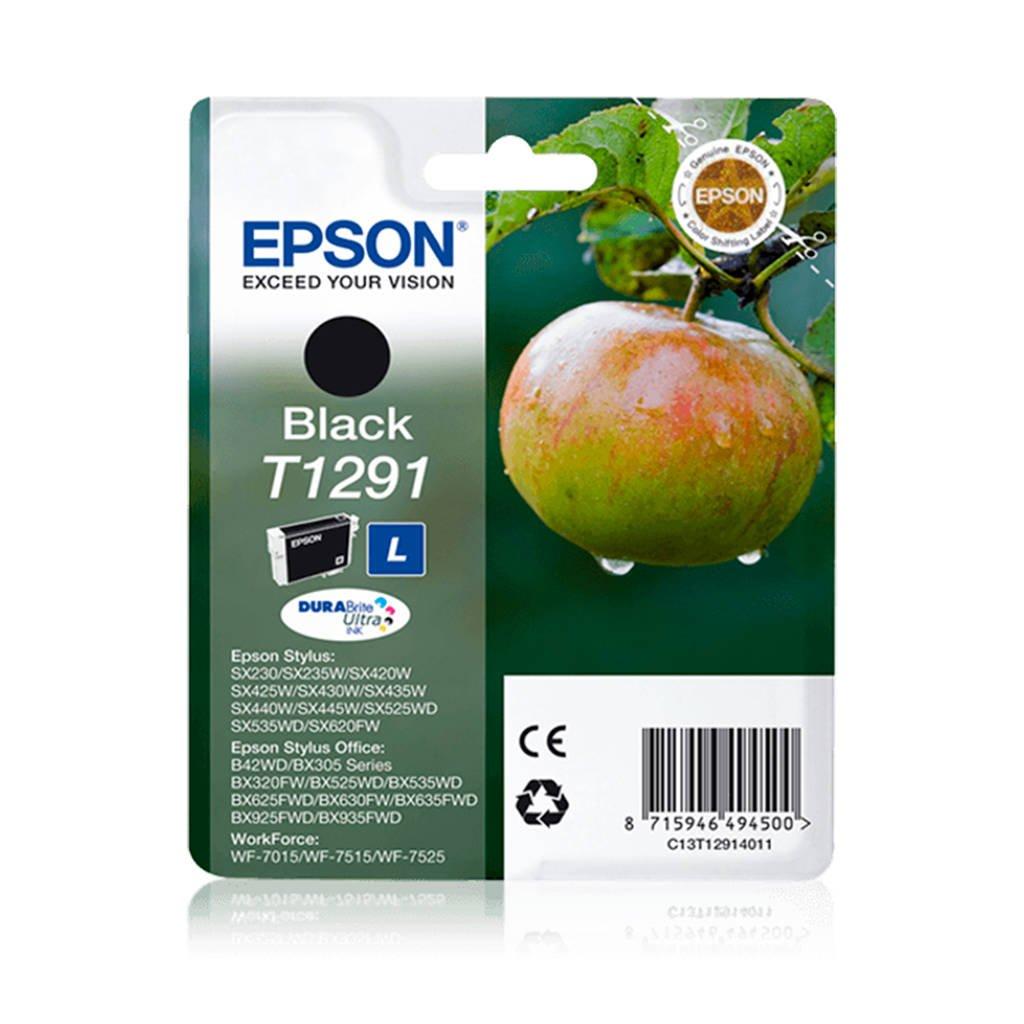 Epson POMME NOIR T1291 inkcartridge, Zwart