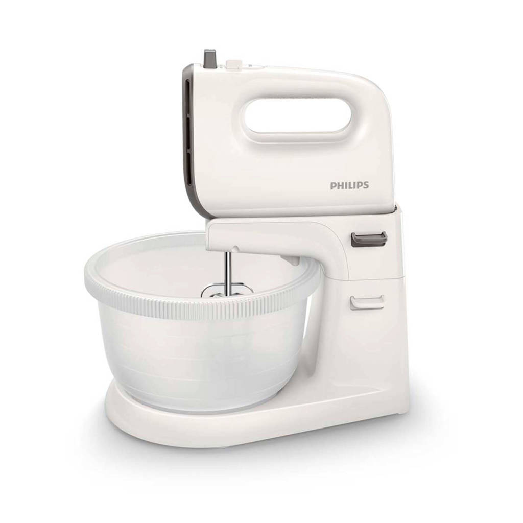 Philips HR3745/00 Viva Collection mixer, Wit