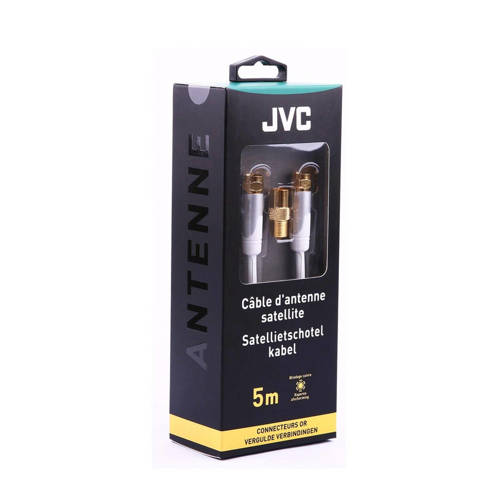 JVC satellietschotel kabel CORDN F M/M WH kopen