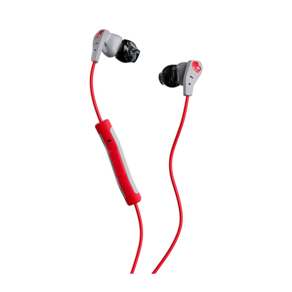 Skullcandy Method in-ear koptelefoon rood, rood, grijs