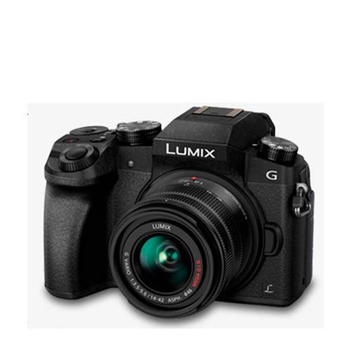 Panasonic DMC-G7 Lumix G + 14-42mm systeem camera kopen