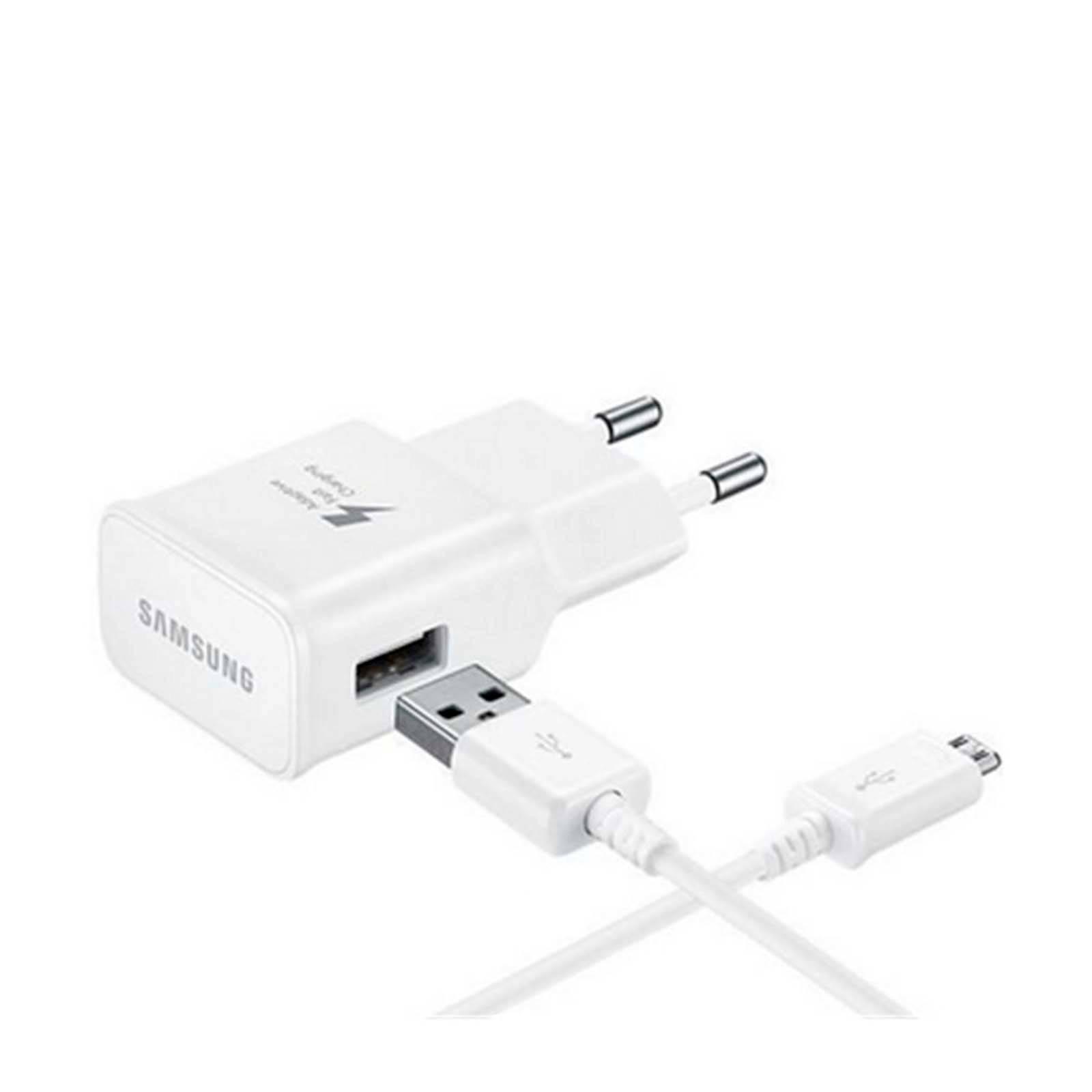 Samsung oplader (fast-charging) + USB-C kabel