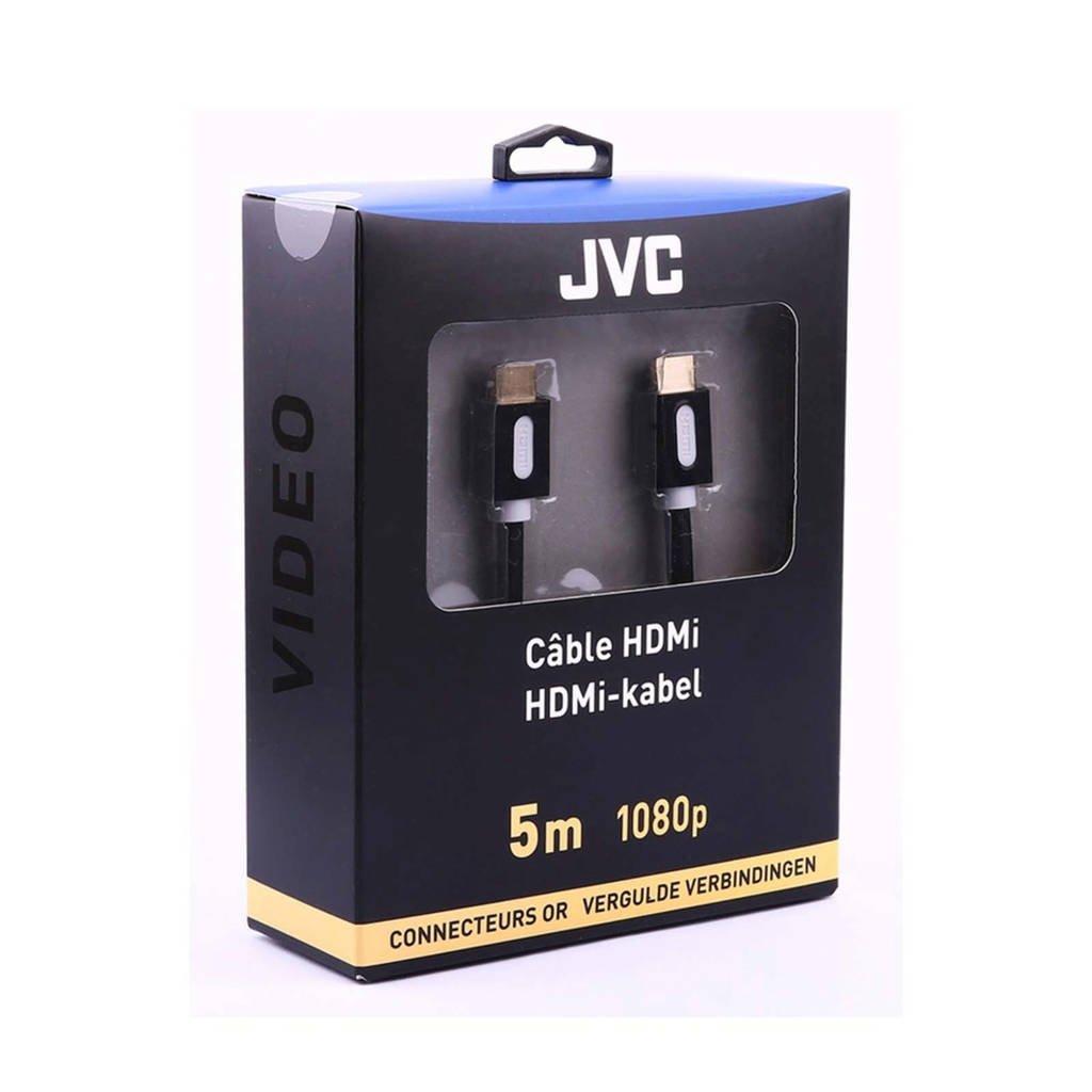 JVC HDMI kabel 5 meter, Zwart