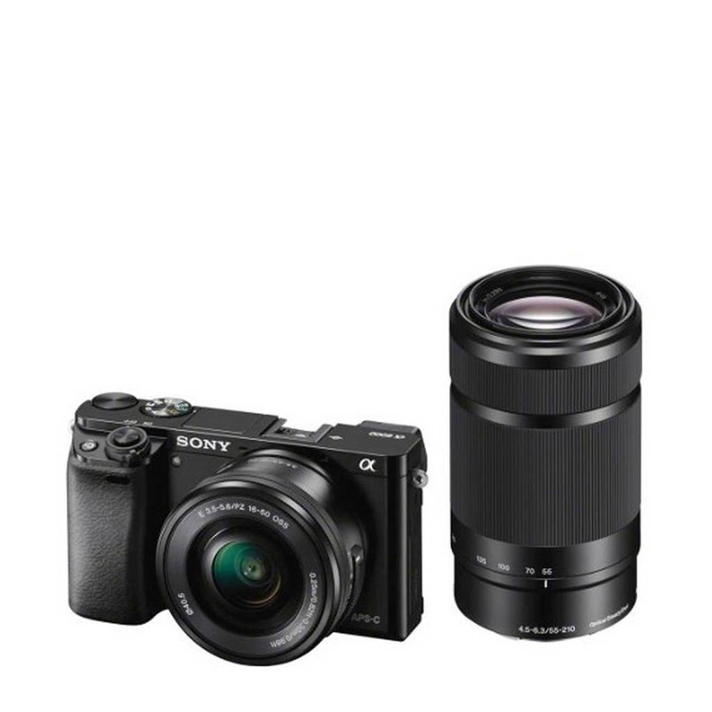 Sony A6000 16-50+55-210 KIT Systeemcamera