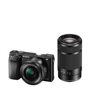 A6000 16-50+55-210 KIT Systeemcamera