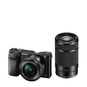 A6000 16-50+55-210 KIT Systeemcamera