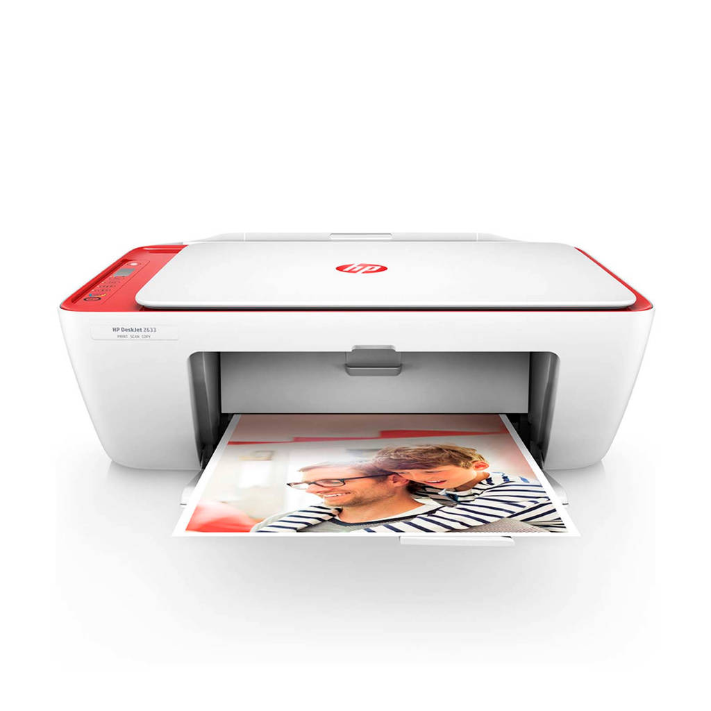 HP DESKJET 2633 AIO All-in-one printer, Rood