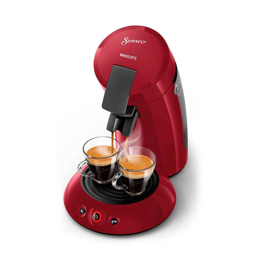 Philips Senseo Original koffiezetapparaat HD6553/80, Rio Rood