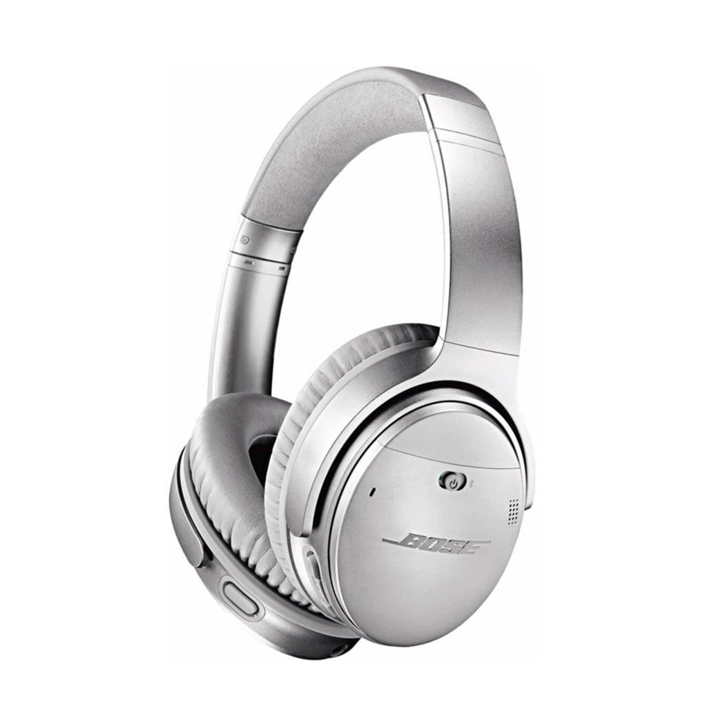 Bose QuietComfort 35 wireless II over-ear bluetooth koptelefoon zilver, Zilver