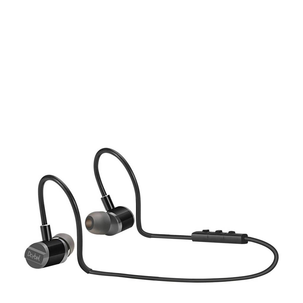 Dcybel FREERUN Bluetooth oortjes, Zwart