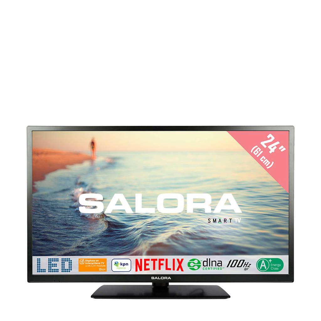 Salora 24HSB5002 HD Ready Smart LED tv, -