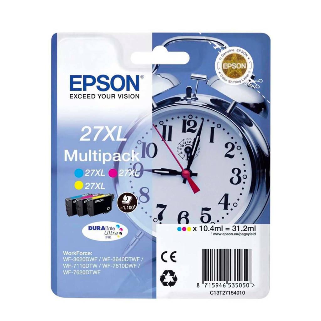 Epson PACK WEKKER 3CLT2715 Multipack, Geel, Cyaan en Magenta