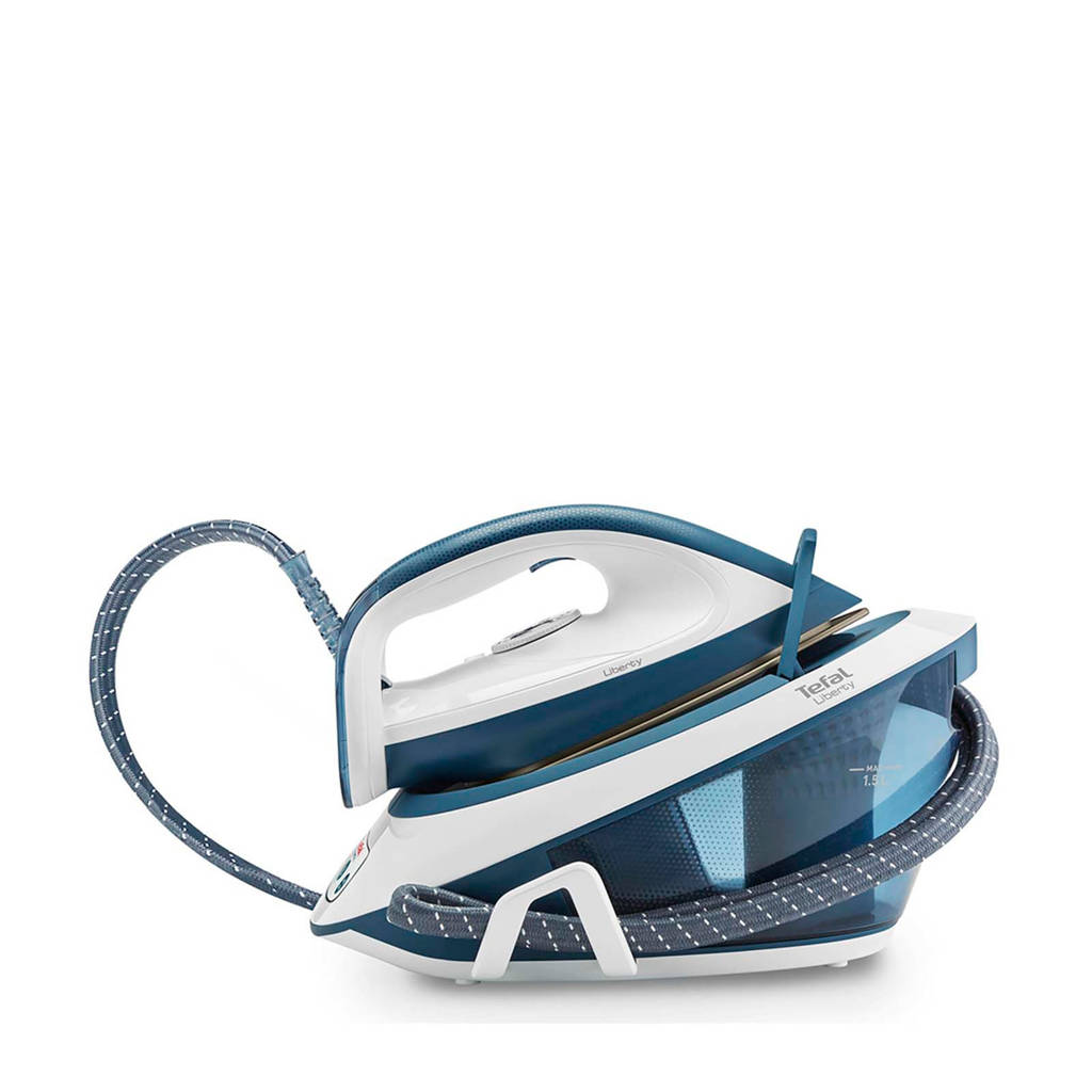 Tefal SV7030 stoomgenerator, Blauw, wit