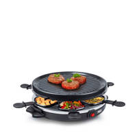 Princess 162725 6-persoons raclette-grill, Zwart