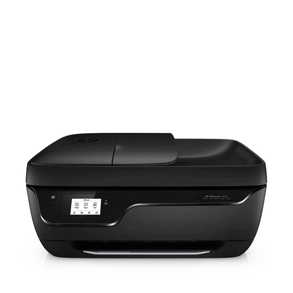 HP Officejet 3833 All-in-One printer, Zwart