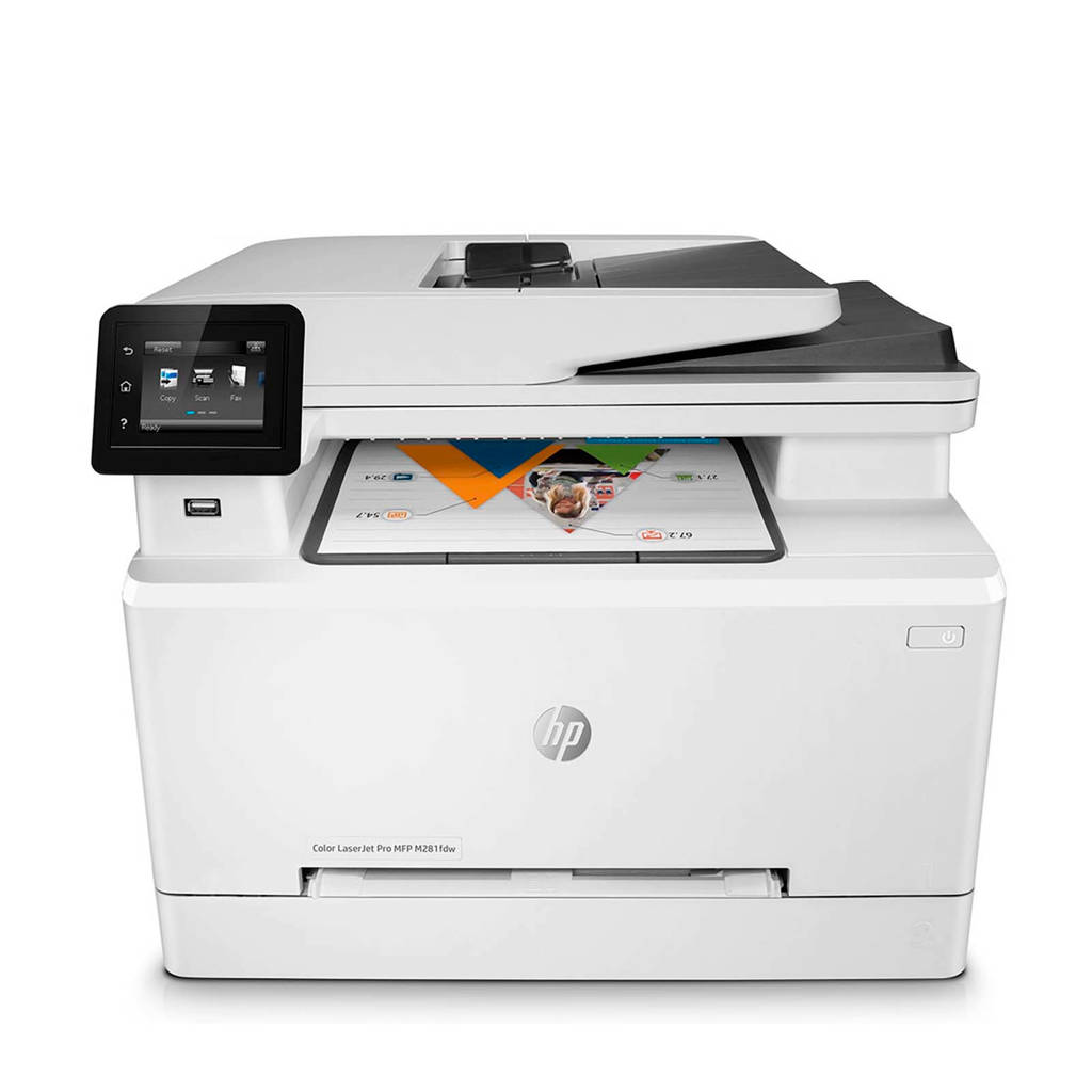 HP LaserJet Pro MFP M281fdw kleuren laserprinter, Wit