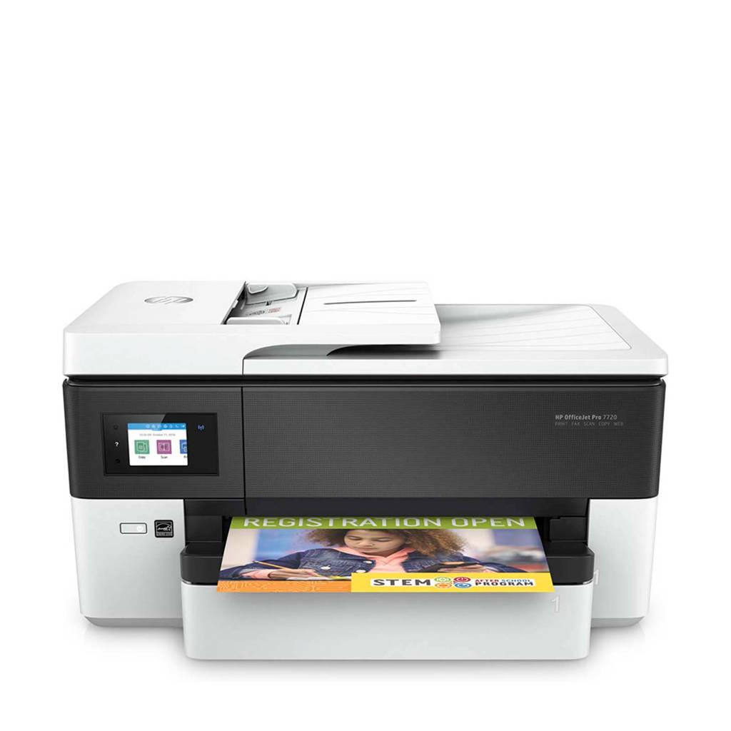 HP OfficeJet Pro 7720 all-in-one printer, Zwart, wit