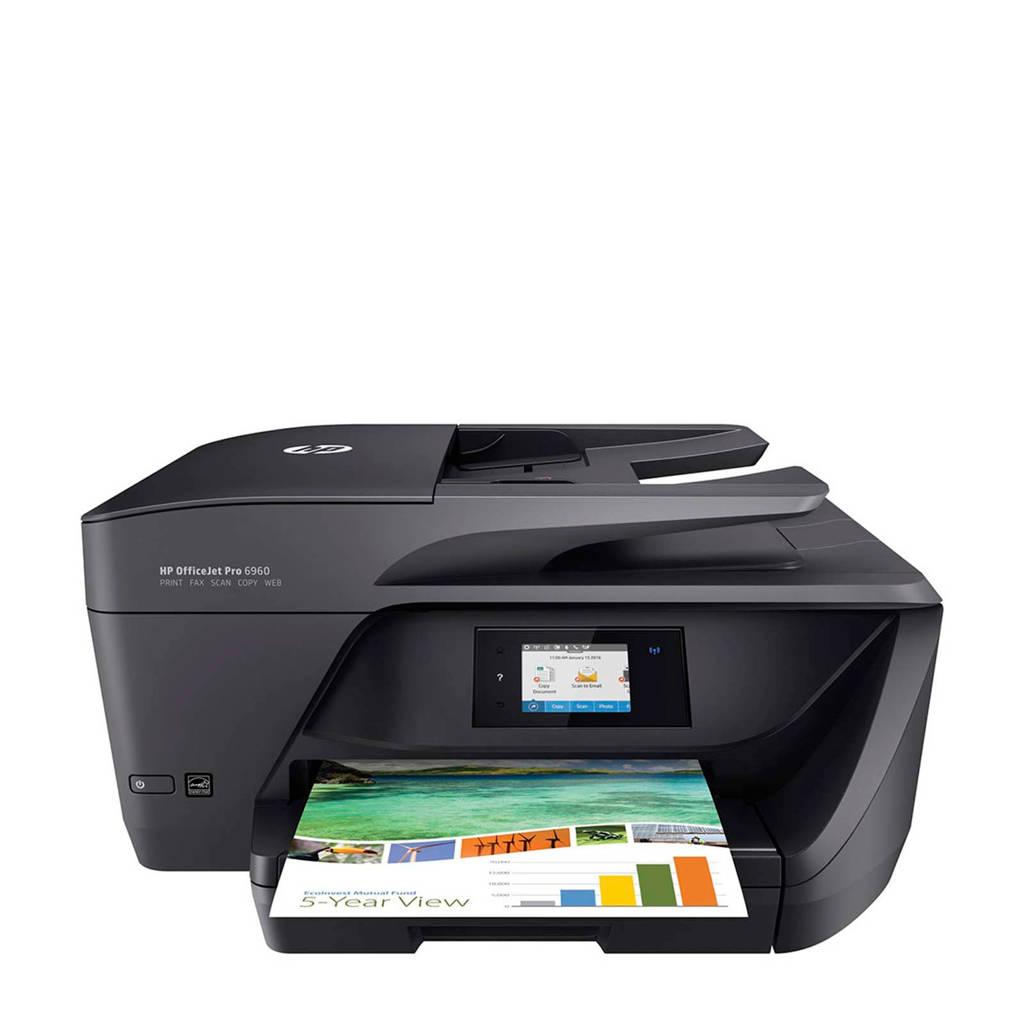HP OfficeJet Pro 6960 All-in-One printer, Zwart