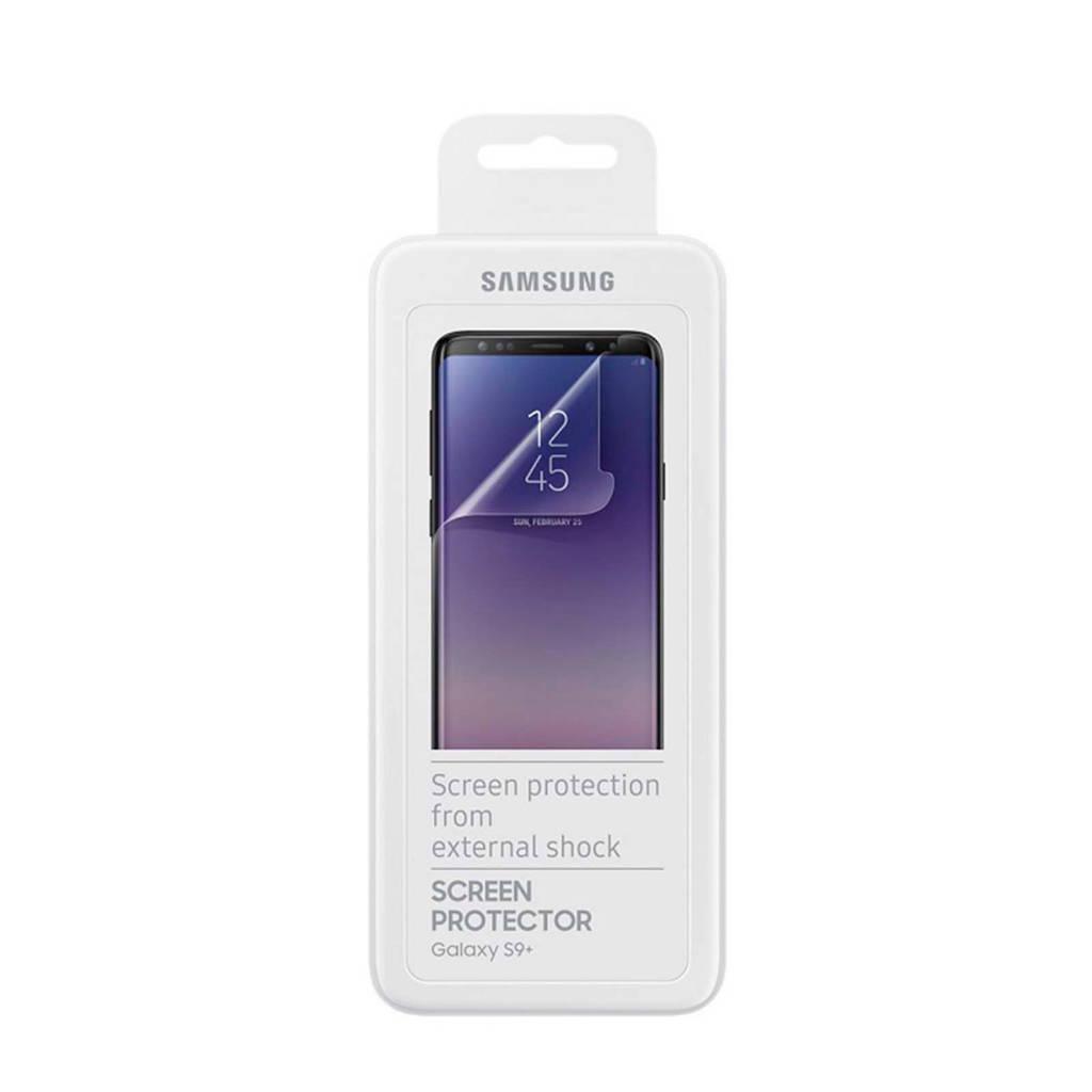 Samsung Galaxy S9+ Screenprotector, Transparant