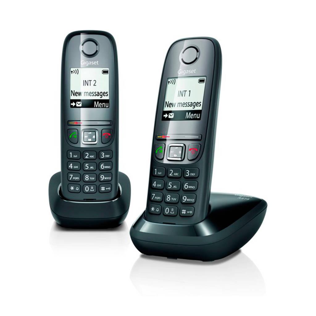 Gigaset A475 Duo huistelefoon, Zwart
