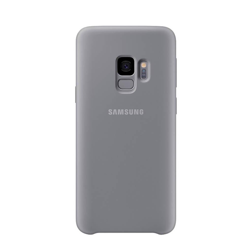 Samsung Galaxy S9 Silicone backcover, Grijs