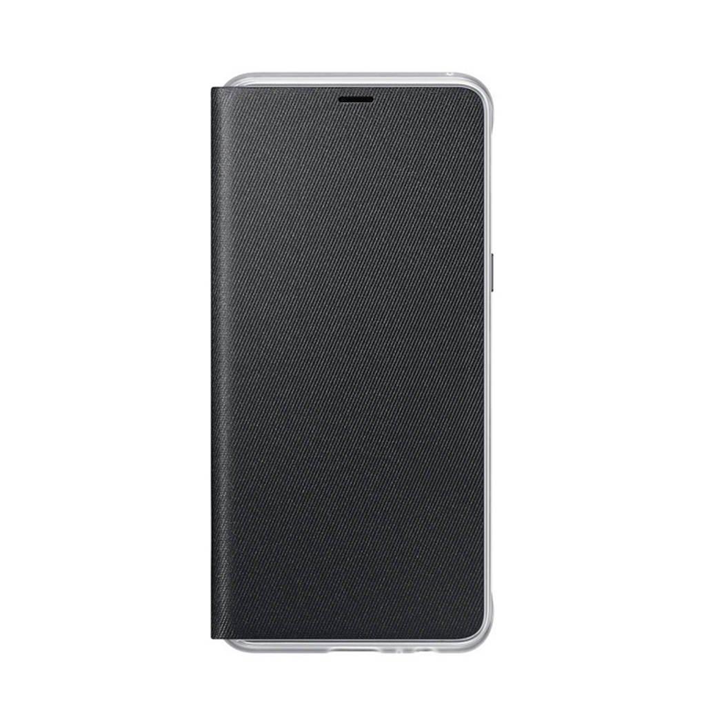 Samsung Galaxy A8 flipcover, Zwart