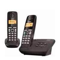 Gigaset AL275A DUO-BLK Huistelefoon, Zwart
